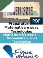 Preparatório – Matemática e Suas Tecnologias