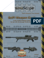 Savage Worlds SciFi Weapons Cards Free Sample (9507794)