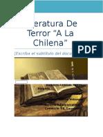 Literatura de Terror (1)