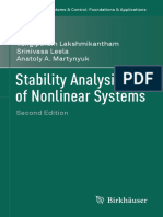 Stability Analysis of Nonlinear Systems 2016