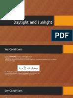 Daylight and Sunlight
