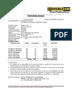 Proforma Invoice 044 a Santa Cruz