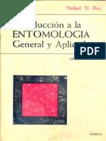 Introducción a La Entomología General y Aplicada. Ross, Herbert H.