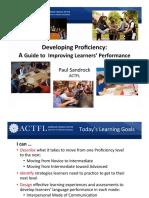 ACTFL Workshop August 2016