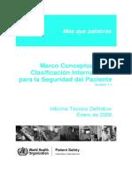 Clasificación Internacional para la Seguridad del Paciente.pdf
