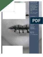Informe de Articulacion Teorico-clinico Anorexias Donghi