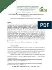Analise Morfometricada Bacia Hidrografica do Rio Itacaiunas