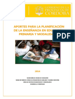 Planificacion de La Ensenanza Educacion PrimariaWEB