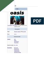 Oasis historia