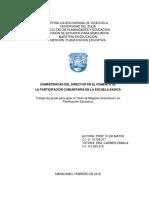 COMPETENCIAS DEL DIRECTOR en el Fomento de la Participacion Comunitaria