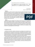 El Consumo de Carbón en Chile 1933 - 1960. Transición Energética y Cambio Estructural (1)