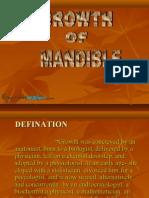 Growth of Mandible Ortho