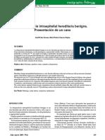 disqueratosis intraepitelial hereditaria