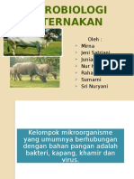 Mikrobiologi Peternakan
