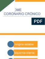 Síndromes coronarios crónicos