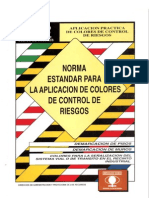 Norma estándar para aplicación de colores de control de riesgos [NECC2]