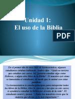 Unidad 1 el uso de la biblia.pptx