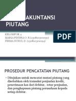 Presentasi Sistem Akuntansi Piutang