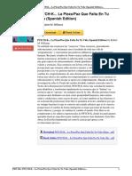 B014FZWYU4 PSYCH K Pieza Falta Spanish Edition eBook