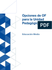 Educacion Media_Opciones de of Para La Unidad Pedagogica