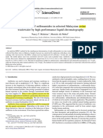 Determination of Sulfonamides in Selected Malaysian Swine Wastewater by High Performance Liquid Chromatography