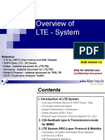 Overview of LTE
