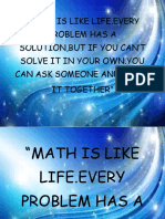 Math is Like Life