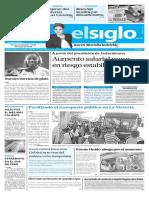 Edición Impresa El Siglo 16 de Agosto
