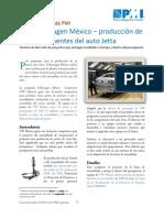 Volkswagen México -PMBOK