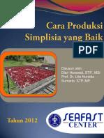 CARA PRODUKSI SIMPLISIA YANG BERMUTU DAN AMAN.pdf