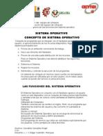 Diferenciar Las Funciones Del Sistema Operativo cia V