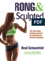 Schoenfeld, Brad-Strong & Sculpted-Human Kinetics (2016)