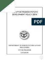 UTTAR PRADESH POTATO POLICY-2014