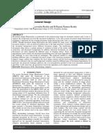 Binarization of Document Image