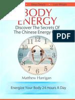 Body Energy- Matthew Harrigan