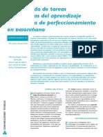 Tareas Facilitadoras Del Aprendizaje de Balonmano. Jorge Jiménez