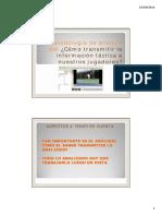 metodologia de análisis táctico y como transmitirlo a los jugadores. Clinic Alto Rendimiento 2012. Ponencias Jose Francisco Nolasco Menargues.pdf