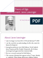 Jane Loevinger- Theory of Ego
