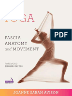 Yoga-fascia Anatomy Movement
