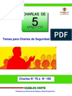 Charlas N° 76 a N°100
