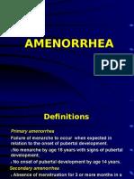 amenorrhea.ppt
