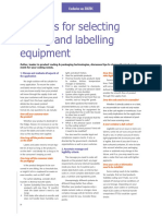 Tips for Selecting Coding and Labeling Equipment