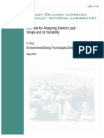 Methods for Analyzing Electric Load Shape and Its Variability