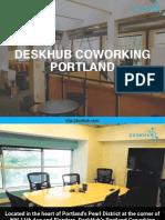 DeskHub Coworking Portland