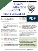 Week1 Checklist