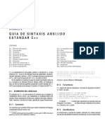 Sintaxis Cpp