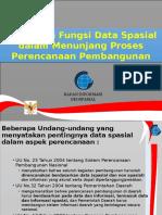 BIG - Peran Data Spasial Dlm Perencanaan