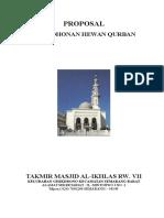Proposal Permohonan Qurban.doc