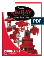 Price Guide Kimray