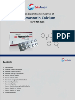 Atorvastatin Export Market Analysis